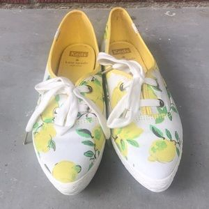 kate spade Shoes - Limited Edition Keds- Kate Spade Lemon Sneakers